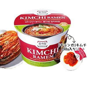 *韓国食品*宗家 キムチカップラーメン 140g(韓国ラーメン)【ラッキーシール対応】