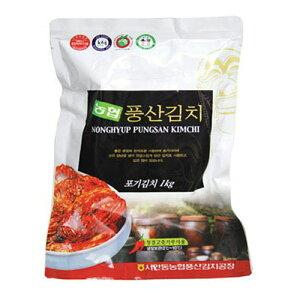 韓国食品■【クール便・冷蔵】韓国本場の味!韓国農協 白菜キムチ 1kg(6302)賞味期限2020/7/10