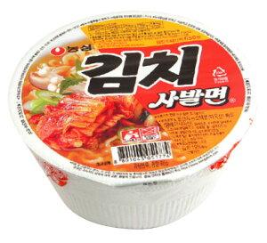 *韓国食品*濃心 キムチカップラーメン 86g(韓国ラーメン)(5642)