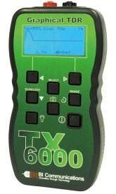 TX6000S TDRケーブル診断・測長機