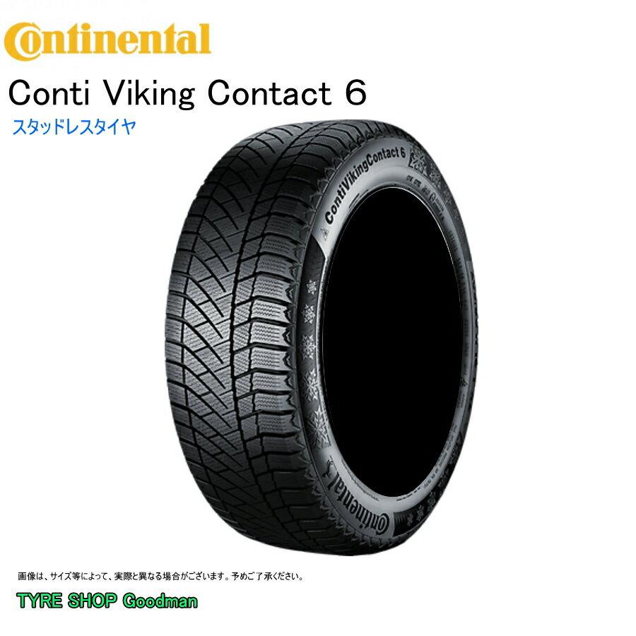 スタッドレス 265/65R17 116T XL コンチネンタル コンチバイキング コンタクト6 SUV スタッドレスタイヤ (17インチ)(265-65-17)