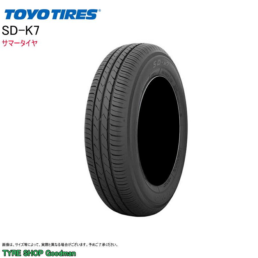 トーヨー 145/70R12 69S SD-K7 サマータイヤ (低燃費)(乗用車用)(12インチ)(145-70-12)