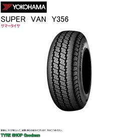 ヨコハマ 145/80R12 80/78N (145R12 6PR 相当) Y356 スーパーバン サマータイヤ (バン・小型トラック用)(12インチ)(145--80-12-80)