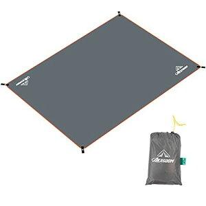 AKASOOM テントシート グランドシート 防水シート 耐水圧8000mm レジャーシート キャンプマット 防水加工 軽量 コンパクト (S/M/L/XL・140x180/140x220/180x220/220x280) 耐摩耗性 下敷き キャンプ用