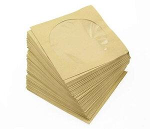 Olive-G 無地 クラフト紙製 CD DVD ケース 100枚 セット
