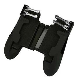 ELT hobby タブレットコントローラー ゲームパッド 6本指 引き金式 高速射撃ボタン iPad対応 荒野行動 PUBG COD コールオブデューティ Mobileコントローラー 高感度 高精度 射撃ボタン エイムア