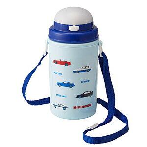 ミキハウス (MIKIHOUSE) 保冷ストローホッパー 15-4094-261 男の子 紺 水筒 ストローマグ ベビーマグ