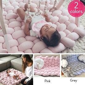 新生児 赤ちゃん 簡易ベビーベッド ベッドインベッド ベビー布団 添い寝 寝返り防止 ベビーガード コットン グレー ピンク