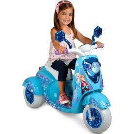 『予約販売!』【送料無料】ディズニー Frozen 『アナと雪の女王』エルサ 映画 電動スクーター 乗り物 おもちゃ バイク  海外直輸入