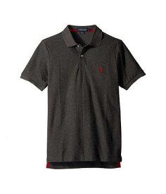 送料無料 USポロ U.S. POLO ASSN. メンズ 男性用 ファッション ポロシャツ Ultimate Pique Polo Shirt - Dark Gray Heather