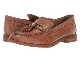 送料無料 ハッシュパピーズ Hush Puppies レディース 女性用 シューズ 靴 ローファー ボートシューズ Chardon Penny - Natural Embossed Leather