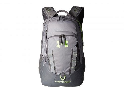 Under Armour アンダーアーマー メンズ 男性用 バッグ 鞄 バックパック リュック Under Armour アンダーアーマー UA Recruit Backpack - Steel/Graphite/Quirky Lime