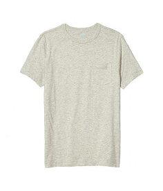 送料無料 crewcuts by J.Crew 男の子用 ファッション 子供服 Tシャツ Short Sleeve Space-dyed Pocket T-Shirt (Toddler/Little Kids/Big Kids) - Heather Dusk