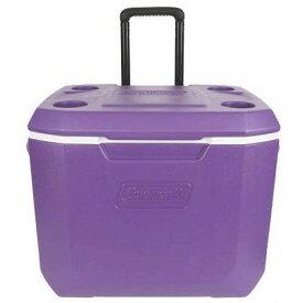 Coleman 50-Quart Xtreme 5-Day Heavy-Duty Cooler with Wheels Purple アウトドア 釣り クーラーボックス【送料無料】【代引不可】【あす楽不可】
