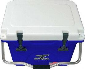 ORCA オルカ Hard Sided 20-Quart Cooler Blue/White アウトドア 釣り クーラーボックス【送料無料】【代引不可】【あす楽不可】