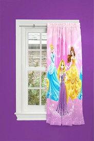 Disney Princess ディズニープリンセス   キッズ 子供 遮光カーテン 子供部屋 カーテン 【送料無料】【代引不可】【あす楽不可】