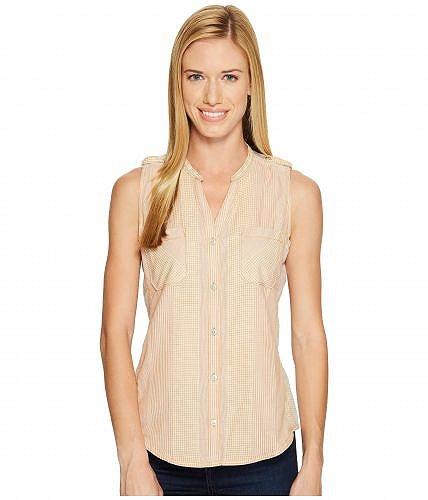 Woolrich ウールリッチ レディース 女性用 ファッション ブラウス Woolrich ウールリッチ Conundrum Eco Rich Sleeveless Shirt - Desert Sun
