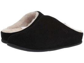 送料無料 フィットフロップ FitFlop レディース 女性用 シューズ 靴 スリッパ Chrissie - Black
