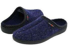 送料無料 Haflinger ハフリンガー シューズ 靴 スリッパ Haflinger ハフリンガー AT Classic Hardsole - Blue Speckle