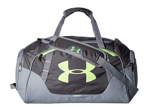 Under Armour アンダーアーマー バッグ 鞄 ダッフルバッグ Under Armour アンダーアーマー UA Undeniable Duffel 3.0 SM - Rhino Gray/Steel/Quirky Lime