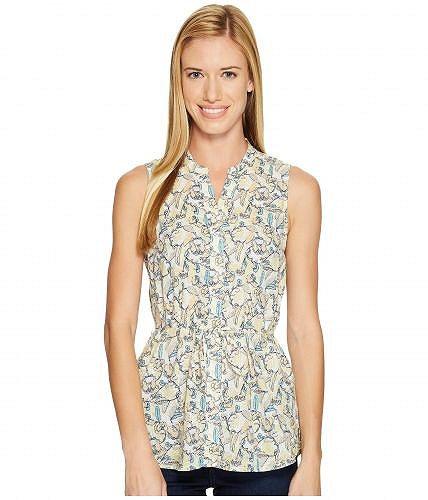 Woolrich ウールリッチ レディース 女性用 ファッション ブラウス Woolrich ウールリッチ Twin Pines Eco Rich Sleeveless Shirt - Golden Haze