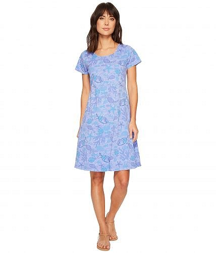 Fresh Produce フレッシュプロデュース レディース 女性用 ファッション ドレス Fresh Produce フレッシュプロデュース Sea Life Sadie Dress - Peri Blue