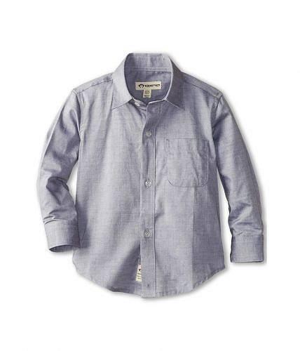 送料無料 アパマンキッズ Appaman Kids 男の子用 ファッション 子供服 ボタンシャツ The Standard Shirt (Toddler/Little Kids/Big Kids) - Grey