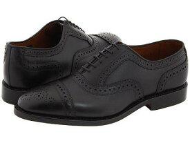 送料無料 Allen Edmonds アレン エドモンズ 紳士靴 通勤靴 ビジネスシューズ メンズ 男性用シューズ オックスフォード Strand - Black Calf