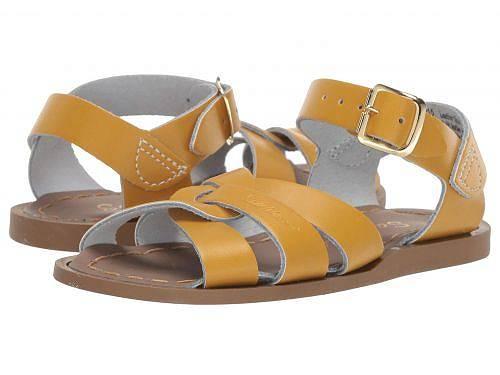 Salt Water Sandal by Hoy Shoes 女の子用 キッズシューズ 子供靴 サンダル The Original Sandal (Infant/Toddler) - Mustard