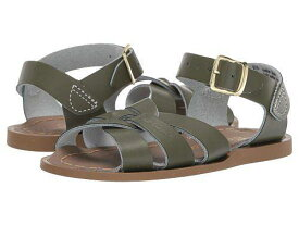 Salt Water Sandal by Hoy Shoes 女の子用 キッズシューズ 子供靴 サンダル The Original Sandal (Infant/Toddler) - Olive