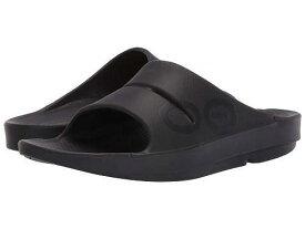 送料無料 オーフォス Oofos シューズ 靴 サンダル OOahh Sport Sandal - Black/Matte