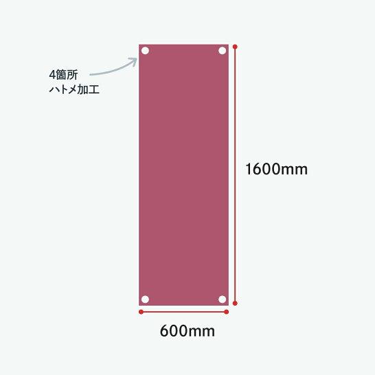 バナーXスタンド小サイズ専用加工とリサイズ