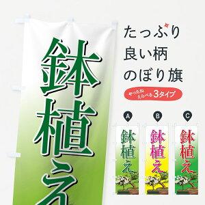 【3980送料無料】 のぼり旗 鉢植えのぼり 観葉植物