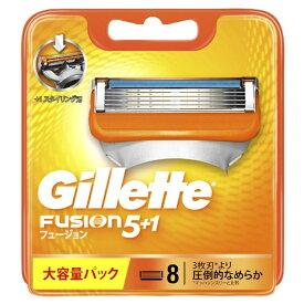 【メール便可】ジレットフュージョン5+1 替刃8個入【※4個入×2個で対応させて頂く場合がございます】