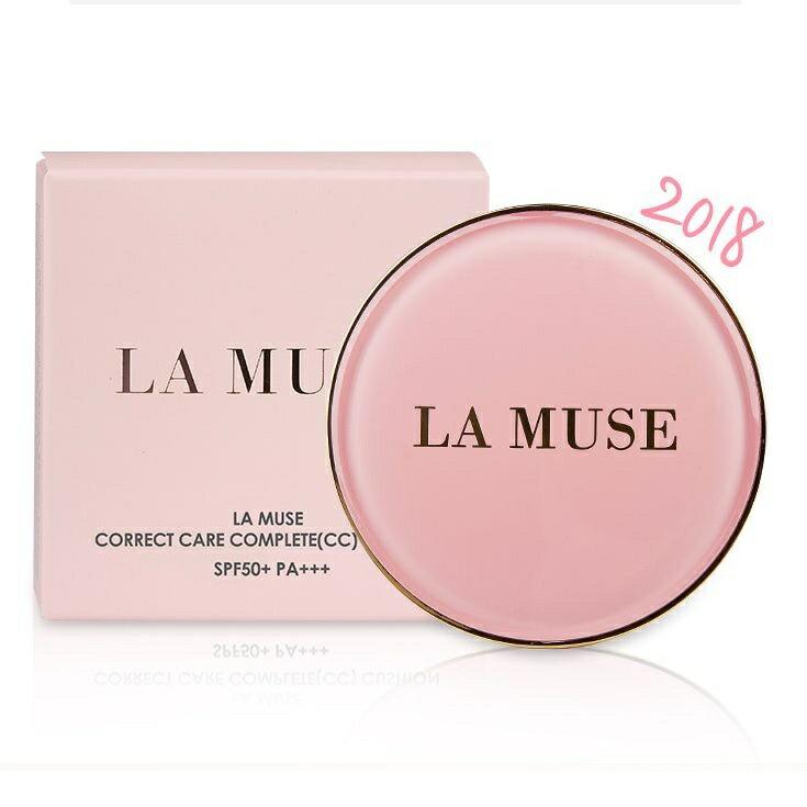 LA MUSE ラミューズ コレクト ケア コンプリート CC クッション本品14g+リフィル14g【送料無料】