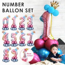 バルーン 数字 風船 アルミ箔 かわいい 飾り お祝い 雑貨 カラフル パーティー 誕生日 送料無料 ファッション おしゃれ 8U11
