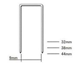 【ケース】フロアー用ステープル 932T 32mm 3,000本×6箱