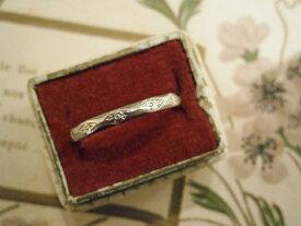 アンティークジュエリー 18ct エタニティーリング 指輪 レディース