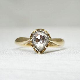 グッドウィル アンティーク ジュエリー14ct.Sv ダイヤモンド リング 指輪