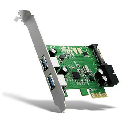 AREAエアリア Over Fender R SD-PEU3R-2E2IL USB3.0ポート増設ボード PCI Expressx1対応