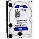 [台数限定] Western Digital WD20EZRZ-RT [2TB/3.5インチ内蔵ハードディスク] WD Blueシリーズ / SATA 6Gb/...