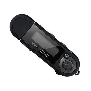 グリーンハウス kana DB GH-KANADB8-BK 8GB ブラック 乾電池対応デジタルオーディオプレーヤー 単4×1本で約20時間/MP3プレーヤー