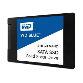 Western Digital WDS200T2B0A [2TB/SSD] WD Blue SATAIII接続 / 64層3D NAND