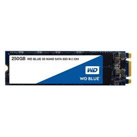 Western Digital WDS250G2B0B [250GB/SSD] WD Blue SATAIII接続 / M.2 2280 64層3D NAND