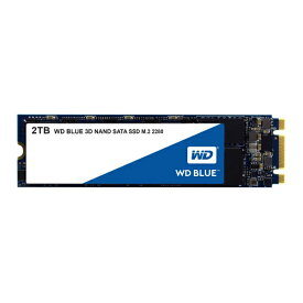Western Digital WDS200T2B0B [2TB/SSD] WD Blue SATAIII接続 / M.2 2280 64層3D NAND