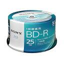 SONY 50BNR1VJPP4 BD-R 4倍速 50枚組 ビデオ用ブルーレイディスク