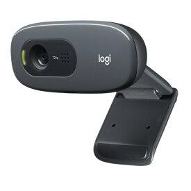 ロジクール HD Webcam C270n [ダークグレー] USB接続 マイク内蔵WEBカメラ スムーズなテレビ電話が可能