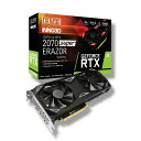 ELSA GeForce RTX 2070 Super ERAZOR GAMING GD2070-8GERSES [GDDR6 8GB] GeForce RTX 2070 SUPER 搭載グラフィックカ…