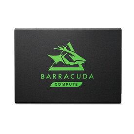 新製品 Seagate ZA500CM1A003 500GB 2.5インチ SSD Serial ATA 6Gb/ BarraCuda 120 SSD シリーズ