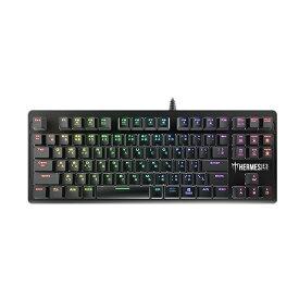 新製品【Gaming Goods】GAMDIAS Hermes E3 RGB Mechanical Keyboard 銀軸採用 日本語91キーレイアウト USB接続 テンキーレス キーボード